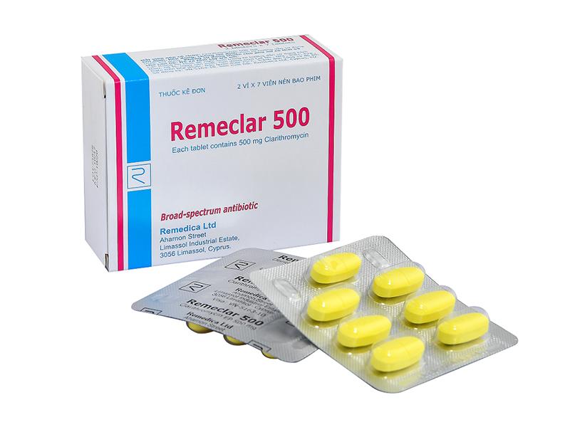 Remeclar - điều trị viêm phế quản cấp và mãn tính