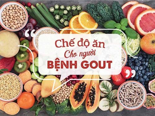 Chế độ ăn cho người bệnh gout-1