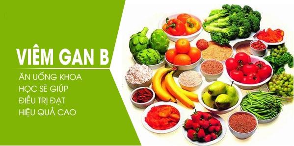 Bệnh viêm gan B nên ăn gì và kiêng gì-1