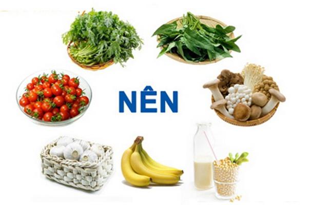 Dinh dưỡng khoa học kiểm soát bệnh tăng huyết áp