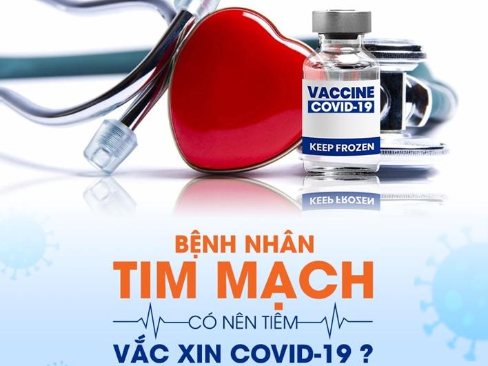 Những lưu ý người bệnh tim mạch cần nhớ khi tiêm vaccine Covid 19